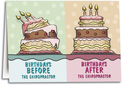 chiropractic birthday card