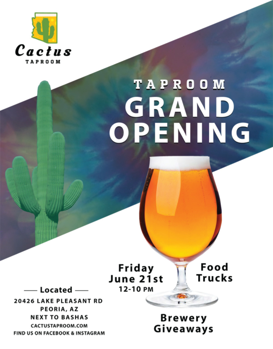 Cactus Taproom Grand Opening